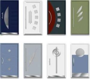 Produktbild Kunststoff Haustüren Schock-line